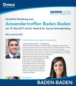 Anwendertreffen Baden-Baden