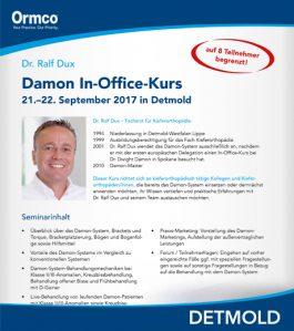Damon In-Office-Kurs in Detmold