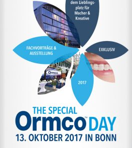 THE SPECIAL ORMCO DAY